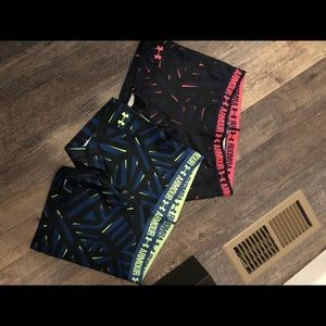 Under Armour spandex set of 2